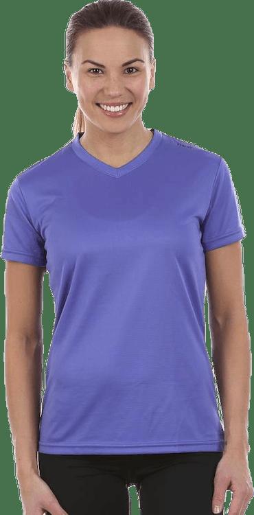 W Base Cool T-Shirt Purple