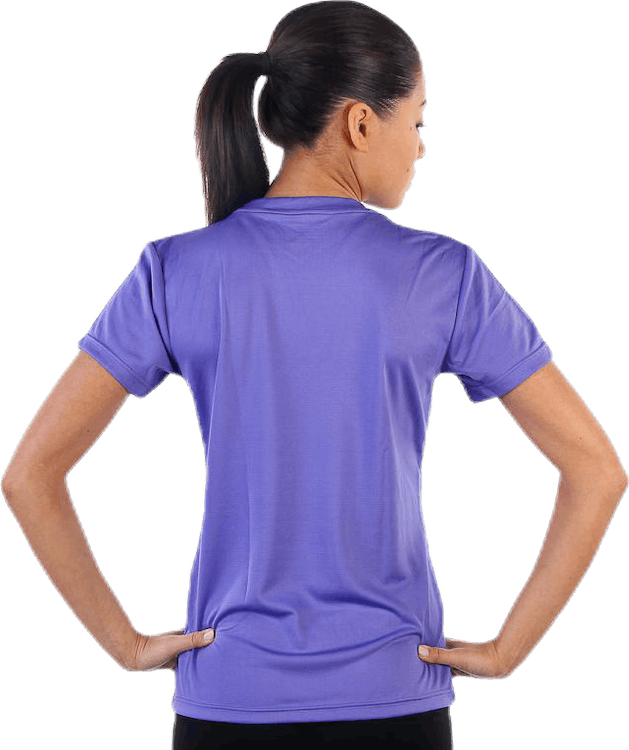 W Base Cool T-Shirt Purple