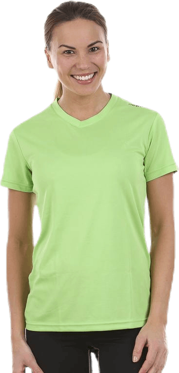 W Base Cool T-Shirt Green