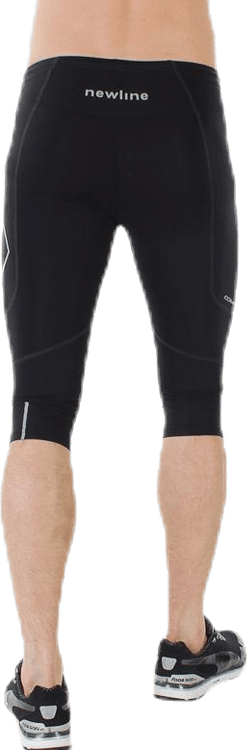 Compression Knee Tights Black