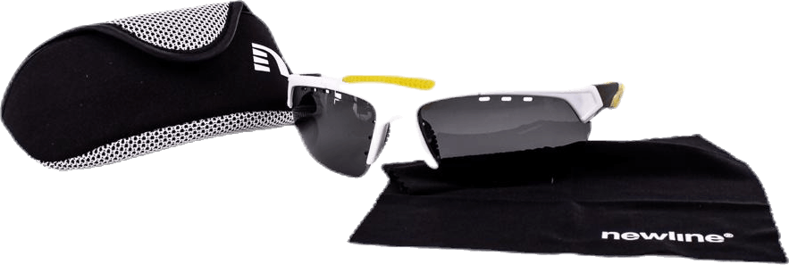 Blaze Sport Glasses White/Yellow