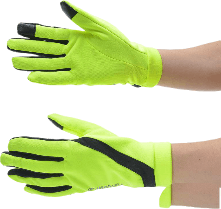 Visio Thermal Gloves Yellow