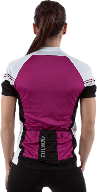 Bike Fit Jersey Purple