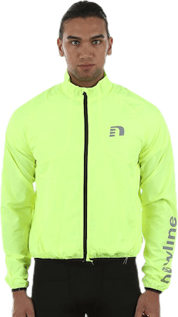 Bike Windbreaker Jacket Yellow