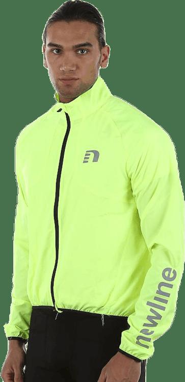 Bike Windbreaker Jacket Yellow
