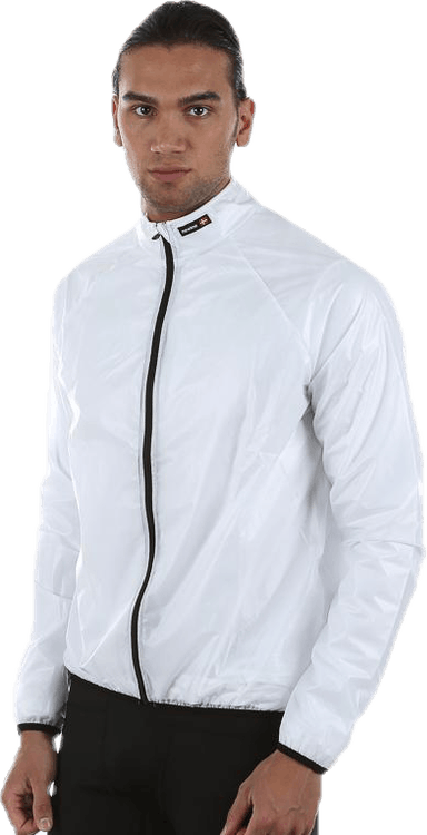 Bike Rain Jacket White