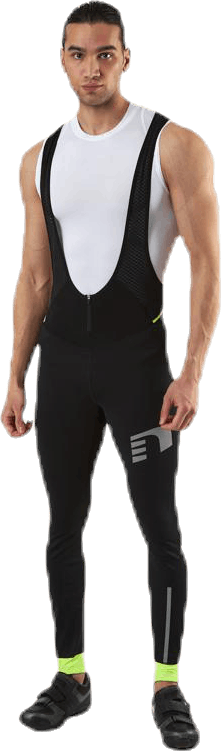 Bike Waterproof Bib Overall Black/Yellow