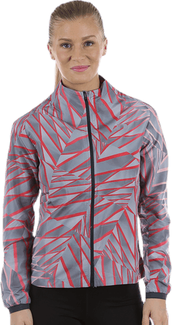 Imotion Printed Jacket Grey/Red