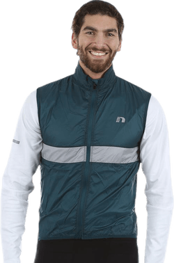 Bike Light Vest Grey