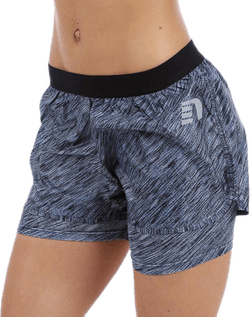 Imotion Heather 2 Layer Shorts Grey