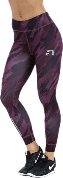 Imotion Printed 7/8 Tights Purple