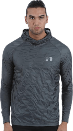 Imotion Hooded Windbreaker Shirt Grey