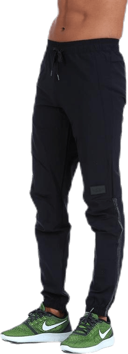 BLACK 4-Way Stretch Drop Zone Pants Black