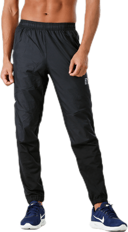 BLACK Cross Pants Black