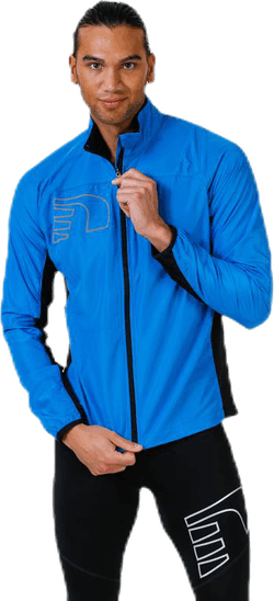 Core Cross Jacket Blue