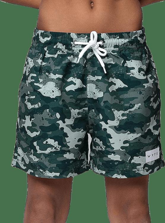 Jr Luca Swim Shorts Patterned/Green