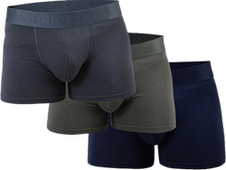 Boxer Bamboo 3-pack Blue/Green/Grey