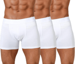 Boxer Bamboo 3-pack White