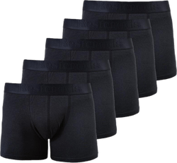 Boxer Bamboo 5-pack Black