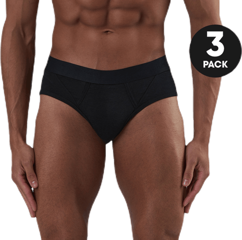 Brief Bamboo 3-Pack Black
