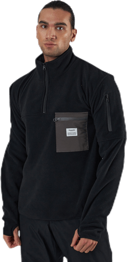 Recycled Polyester Pullover Black