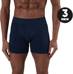 Boxer Organic Cotton 3-pack Blue