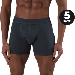 Boxer Organic Cotton 5-pack Grey