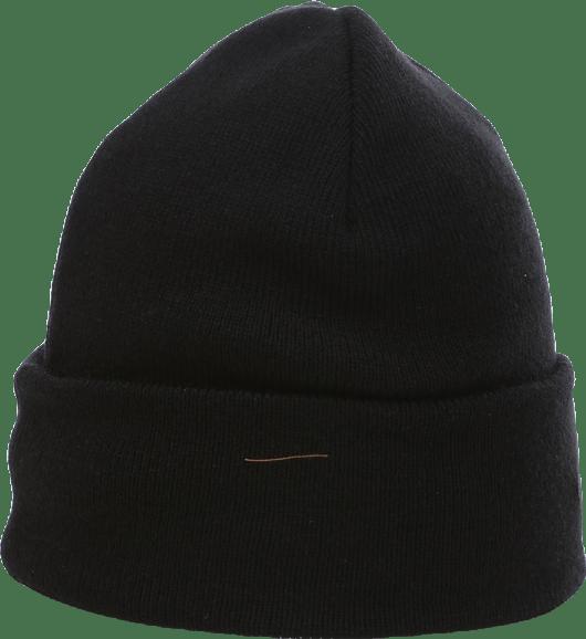 Upfront Official Fold Beanie Black