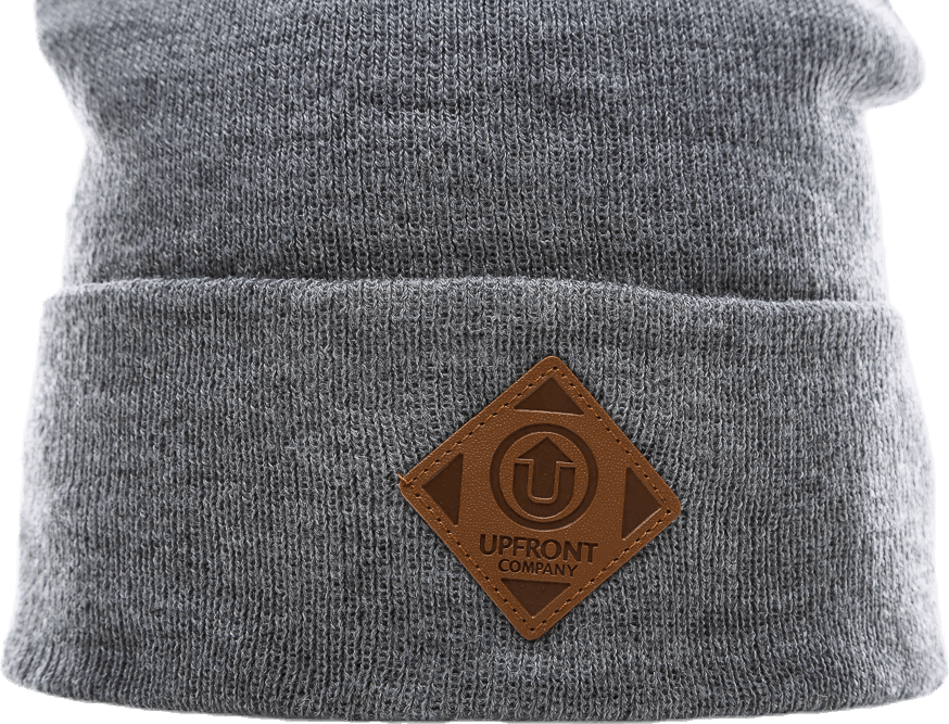 Official Fold Beanie Grey