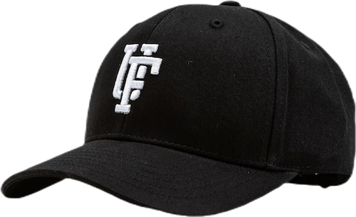Spinback Youth Baseball Cap Black