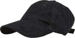 Vincent Cord Soft Baseball Black