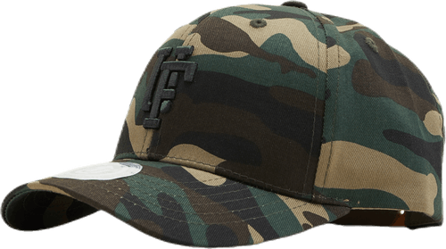 Spinback Youth Baseball Cap Patterned/Green