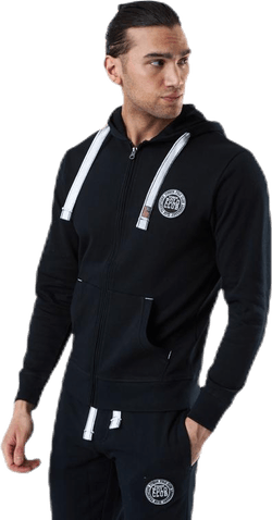 Krew Sweatshirt Full Zip Black
