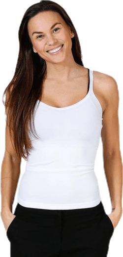 Plain Underwear Top White