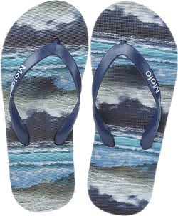 Zeppo Flipflops Patterned/Black