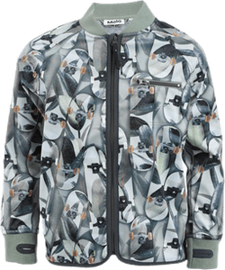 Ulas Softshell Jacket Patterned/Green