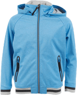 Cloudy Softshell Bomber Blue