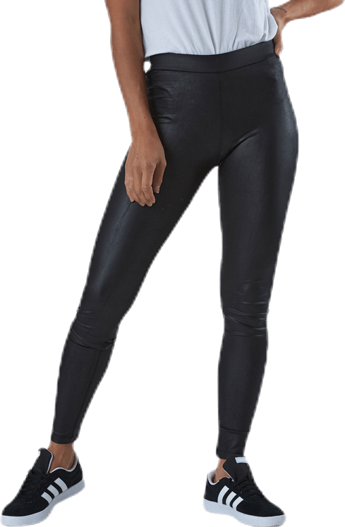 New Shiny Leggings Black