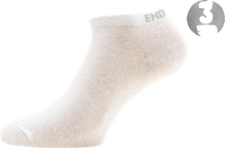 Mallorca 3-Pack Socks Low Cut White
