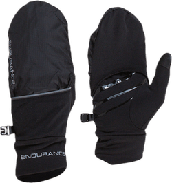 Silverton Run Mittens Black