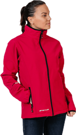 Covina Softshell Jacket Red