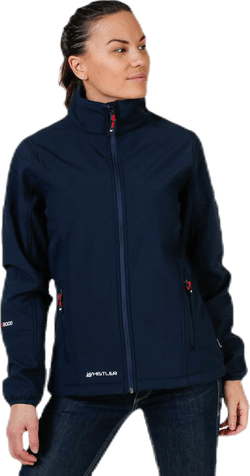 Covina Softshell Jacket Blue