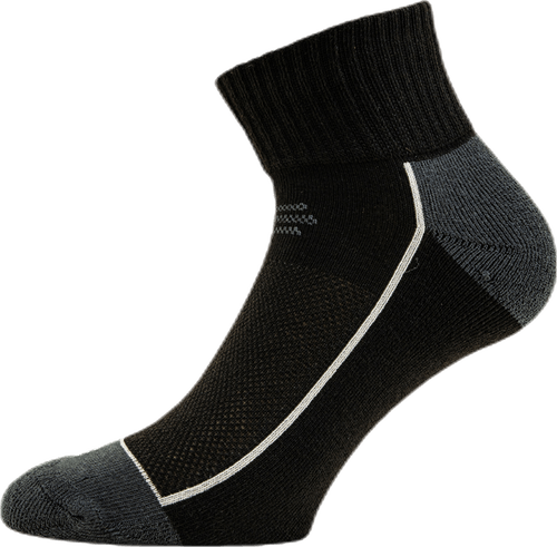 Avery Quarter Socks 3-pack Black