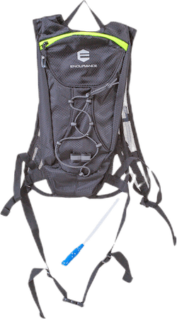 Liffey Backpack w/1,5 L Water Bladder Black
