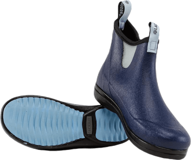 Hampton II Blue/Patterned