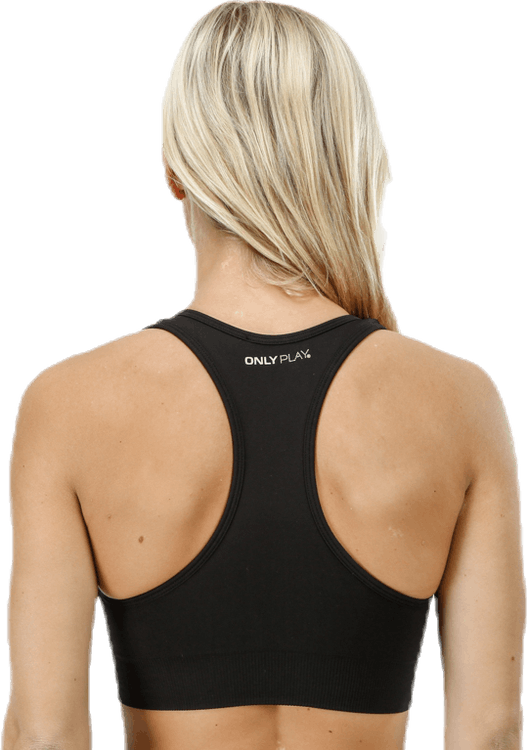 Daisy Seamless Sports Bra Black