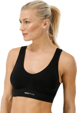 Mira Seamless Sports Bra Black