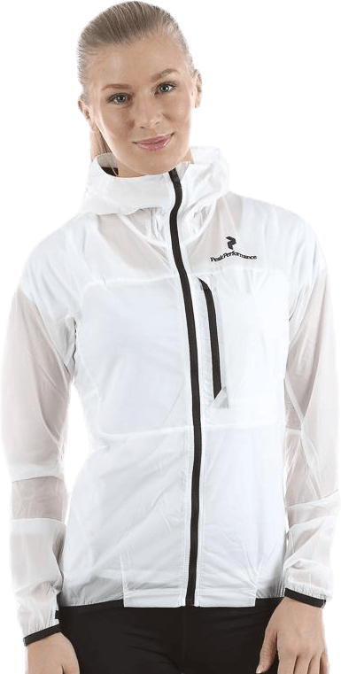 Blacklight Wind Jacket White