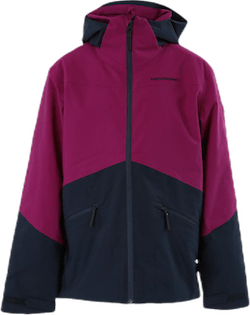 Jr Greyhawk Ski Jacket Purple/Blue