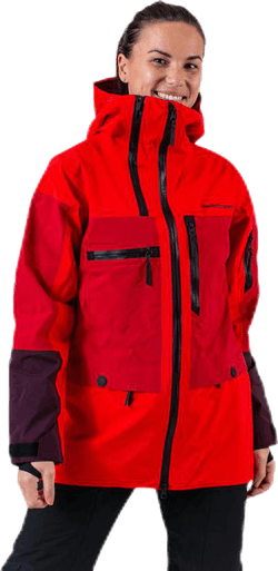 Vertical Jacket Red